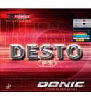 多尼克F3 Donic DESTO F3 无机反胶套胶 适合喜欢增强手感控制的球手 1003