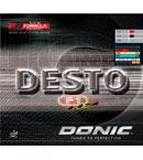 多尼克F1加硬型 Donic DESTO F1-HS 无机反胶套胶(12010)