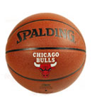 SPALDING斯伯丁 NBA公牛队徽篮球 74-097