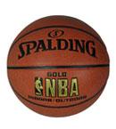 SPALDING斯伯丁 NBA金色经典篮球 64-284