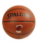 SPALDING斯伯丁 NBA热火队徽篮球 74-098
