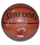 SPALDING斯伯丁 NBA热火队球星 詹姆斯签名篮球 74-163