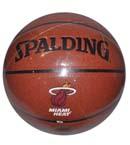 SPALDING斯伯丁 NBA热火球星韦德签名篮球 74-164 PU球