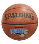 SPALDING斯伯丁 NBA魔术队徽球 74-099 PU皮比赛篮球