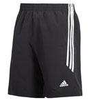 adidas阿迪达斯 短裤AGM-12305黑色 乒乓球短裤