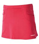 KAWASAKI川崎 SK-12262羽毛球裤裙 桃红色