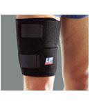 LP欧比护具 LP755护大腿 足球篮球运动保暖可调护套 预防拉伤