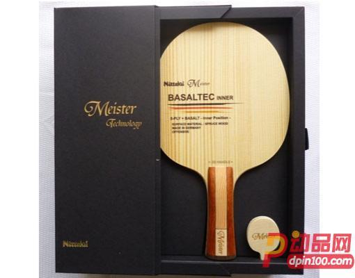 Nittaku尼塔库大师玄武岩 MEISTER BASALTEC INNER 乒乓球底板 内置纤维