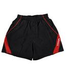 Butterfly蝴蝶 专业乒乓球短裤 运动短裤 BWS321-0201 红黑款