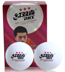 DHS红双喜 赛福40+三星乒乓球 世界级赛事用球 6只装