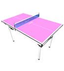 STIGA斯帝卡乒乓球台 mini小球台 家用简易型 粉红色