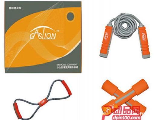 GASLION/格狮伦礼运动健身户外大礼包 跳绳哑铃四件套GS009