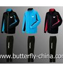 Butterfly蝴蝶乒乓球套服WSW426 运动服套装 训练服