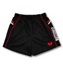 Butterfly蝴蝶 专业乒乓球短裤 运动短裤 BWS322-0201 红黑款