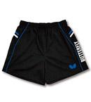 Butterfly蝴蝶 专业乒乓球短裤 运动短裤 BWS322-0203 蓝黑款