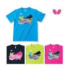 蝴蝶乒乓球服BWH-815 T恤 文化衫男女款