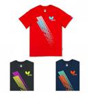 Butterfly蝴蝶乒乓比赛短袖BWH-817 男女款圆领T恤