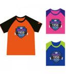 Butterfly蝴蝶乒乓短袖运动服CHD-801比赛T恤 儿童款
