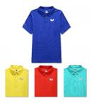 Butterfly蝴蝶新款乒乓短袖BWH-273专业比赛T恤 男女款