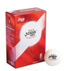 红双喜国际乒联世界巡回赛三星3赛顶D40+有缝球 6只装