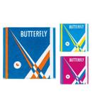 蝴蝶Butterfly运动方巾WTT-107-1 小汗巾 乒乓球纯棉毛巾