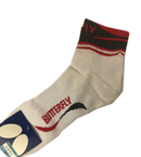 BUTTERFLY蝴蝶乒乓球袜 运动袜TBC-SO-048 红黑色