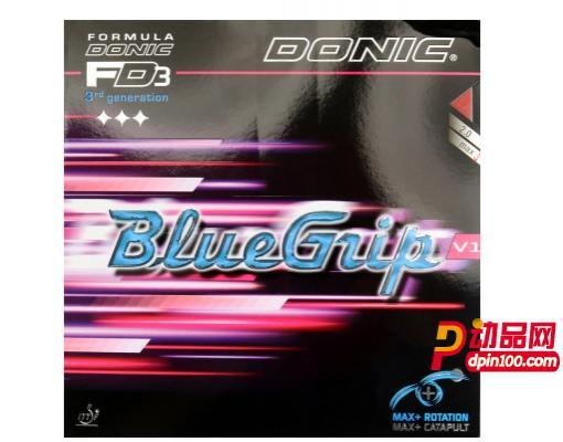 Donic多尼克 BlueGrip V1 13061 乒乓球胶皮