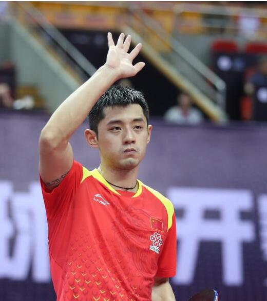 张继科双打失利无缘中国乒乓球公开赛混双四强