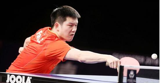 祝贺樊振东卡塔尔公开赛摘得男单男双冠军
