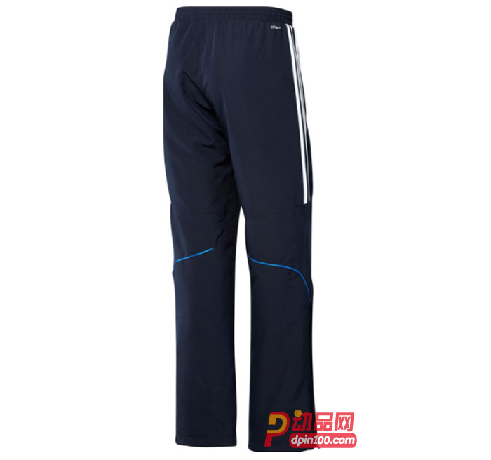 adidas 阿迪达斯 运动裤 长裤 男 T12 X12866 蓝色款