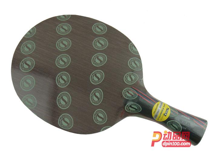 STIGA斯蒂卡红黑碳王7.6 WRB乒乓底板(CARBO 7.6 WRB)快攻弧圈