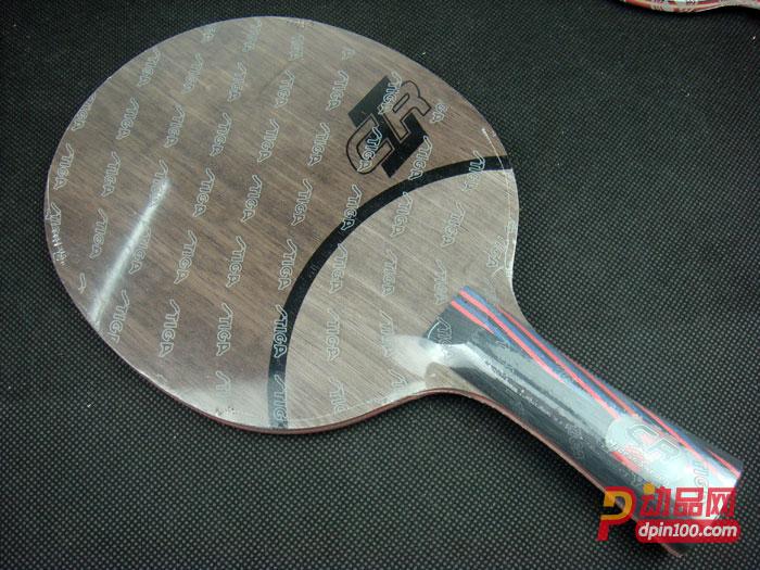 STIGA斯蒂卡红黑碳王7.6 CR WRB乒乓底板(CARBO 7.6CR WRB)红黑中速度最快一款