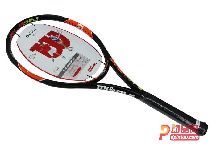 威尔胜网球拍 burn100单拍wrt72701u2专业级网拍 burn100uls:侧面图片