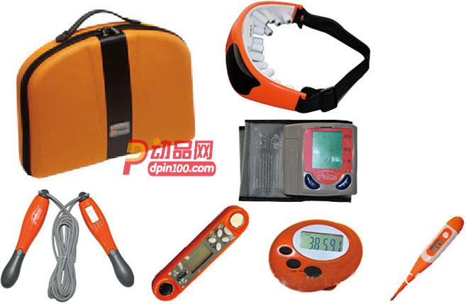 GASLION/格狮伦礼品 运动健身户外大礼包 血压计家庭健身套装GS013