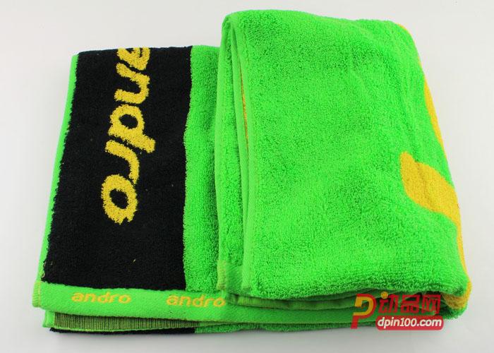 andro岸度运动汗巾 乒乓球专用毛巾  63224000