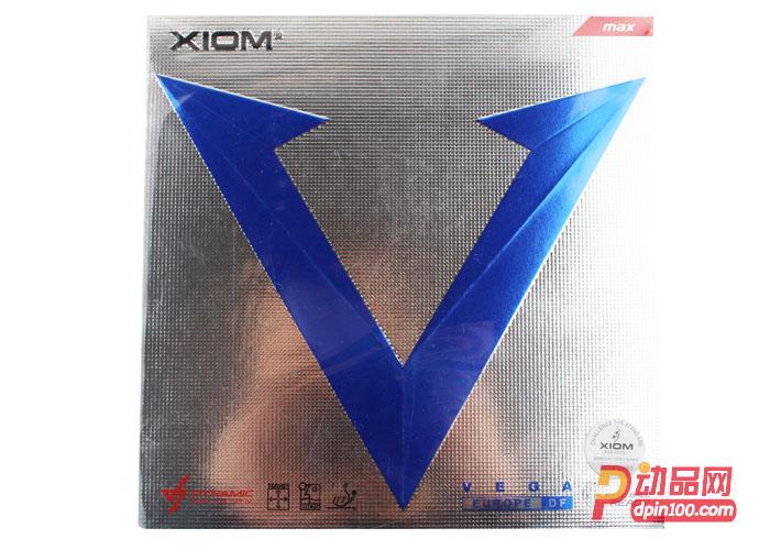 XIOM骄猛 蓝V唯佳VEGA欧洲EURO DF进口乒乓球胶皮: