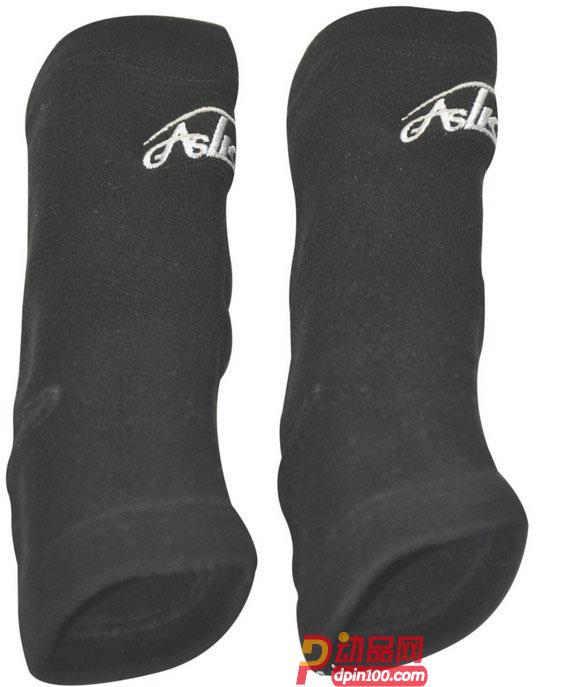 GASLION/格狮伦 黑色护具八件套 护腕护膝护踝护肘 运动套装GS011: