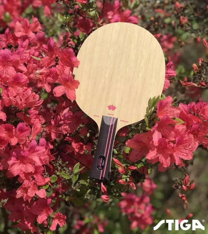 STIGA斯帝卡 杜鹃OC纯木底板 Azalea Offensive 杜鹃攻击型纯木乒乓底板,大美杜鹃,2018最新上市的斯帝卡底板力作!
