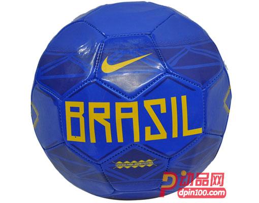 NIKE耐克 巴西国家队队徽纪念足球 5号黄蓝色足球 SC2043470图片