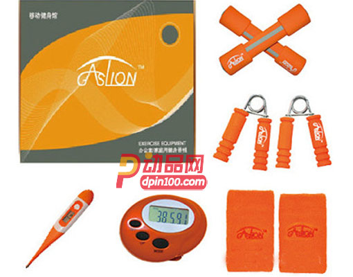 GASLION/格狮伦礼品 运动健身户外大礼包 哑铃握力器八件套GS008